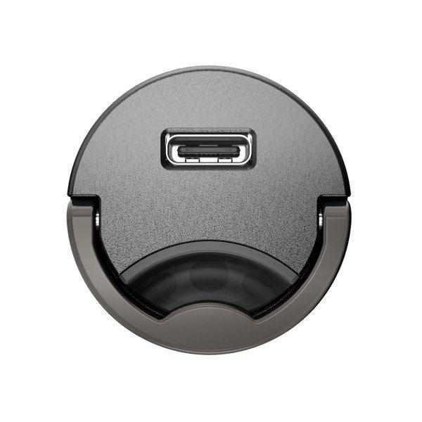 Baseus Tiny Star | Ładowarka samochodowa USB C Power Delivery 3.0 Quick Chargr 4+ 30W + kabel Type C Lightning IPhone 18W 1m