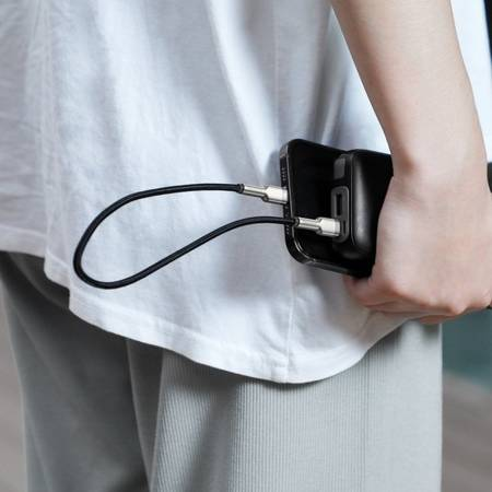 Baseus Cafule Metal |  Кабель USB-C Lightning для iPhone 12 Power Delivery 20W